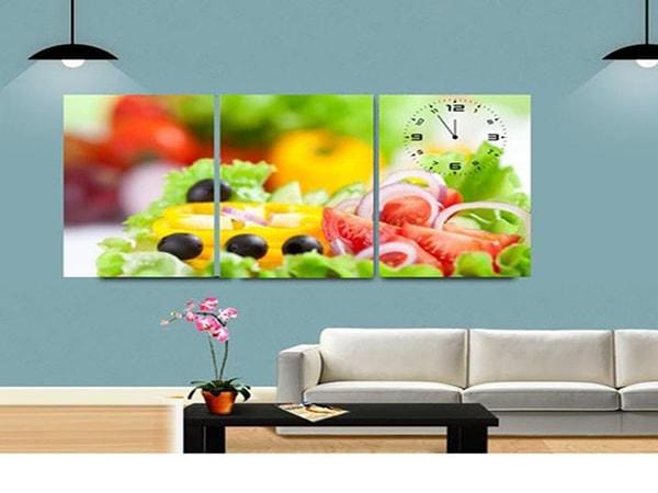 Trang trí phòng bếp đúng cách với hoa quả
