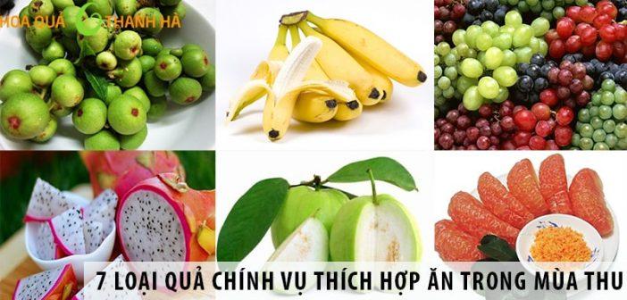 7 loại quả chính vụ thích hợp ăn trong mùa thu
