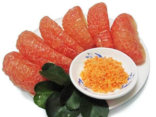 Bưởi giải vitamin C và chất xơ hòa tan tốt cho cơ thể