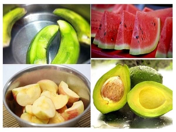 Cách giữ hoa quả tươi ngon, không bị thâm sau khi gọt vỏ