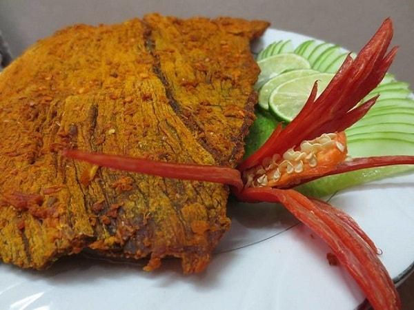 Khô nai là một trong những đặc sản hảo hạng của Đà Nẵng