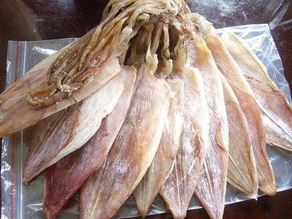 Mực là một loại hải sản quen thuộc vùng biển