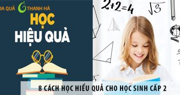8 cách học hiểu quả cho học sinh cấp 2