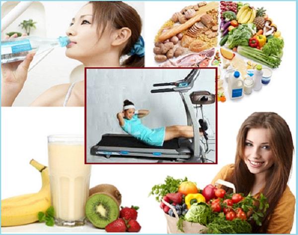Bệnh nhân nên rèn luyện thói quen tập thể dục và ăn uống lành mạnh