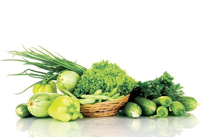 Rau có màu xanh đậm giúp người nghiện thuốc giảm stress và hỗ trợ phòng chống ung thư