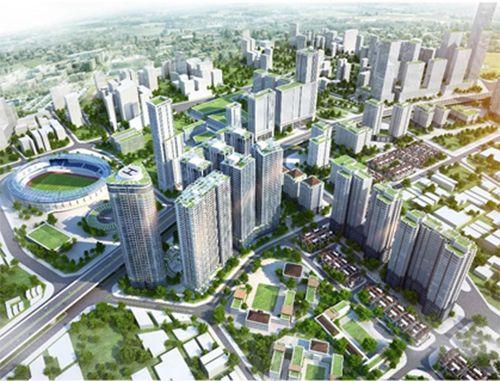 Hà Nội nhiều dự án bất động sản đang được xây dựng