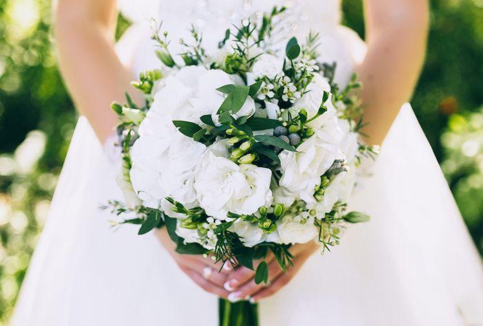 Hoa Sơn Chi không thể thiếu trong các bó hoa cưới