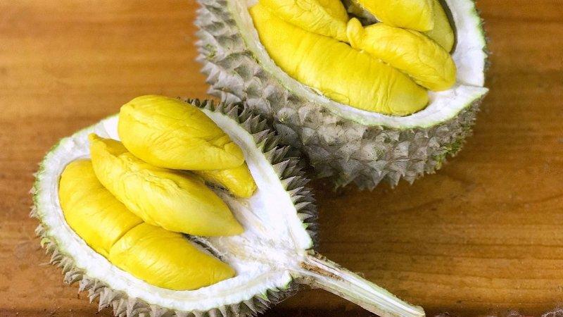 Sầu riêng là loại quả rất đặc trưng tại miền Tây