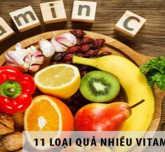 11 loại hoa quả có chứa nhiều Vitamin C nhất