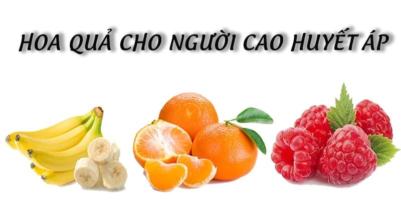 Top 9 loại hoa quả tốt cho người bị bệnh cao huyết áp 1