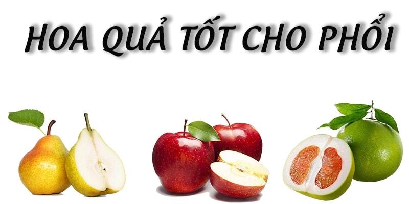 Những loại hoa quả tốt cho phổi của bạn 1