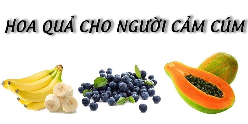 Những loại hoa quả tốt cho người cảm cúm 1
