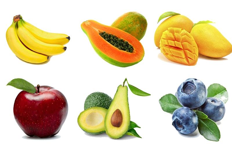 Các món hoa quả cho bé ăn dặm