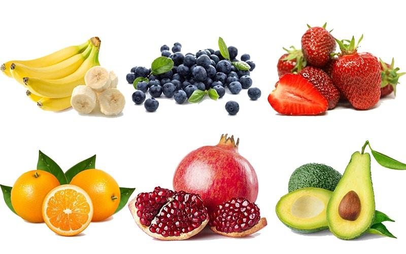 Các loại quả tốt chio sức khỏe