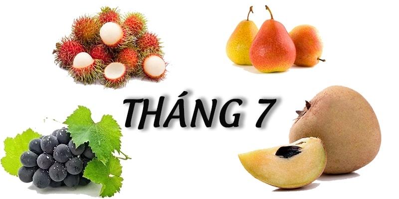 Tháng 7 mùa trái cây gì? Những loại quả bạn không nên bỏ lỡ