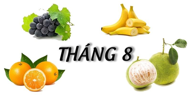 Tháng 8 mùa trái cây gì? Giá trị dinh dưỡng của từng loại quả 1