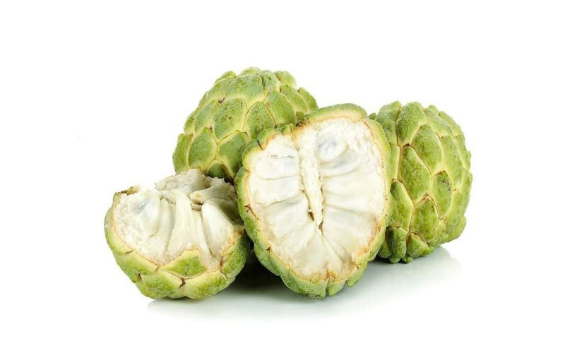Một quả na với kích cỡ trung bình nặng khoảng 150g có chứa 56,3mg vitamin C