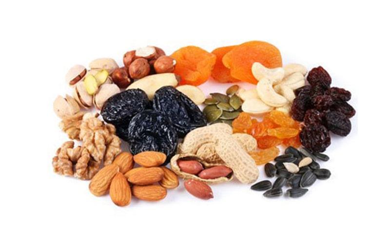 Các loại trái cây khô cung cấp Vitamin A vô cùng tuyệt vời