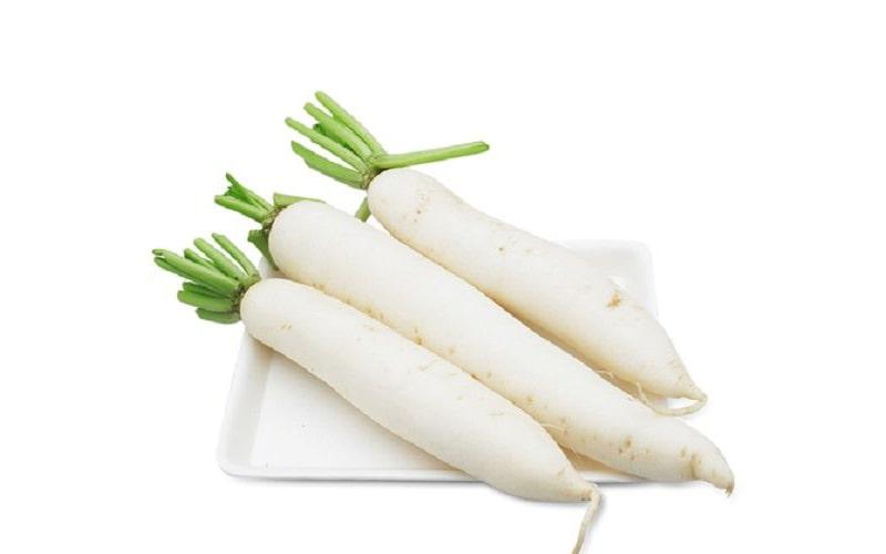 Trong củ cải trắng chứa khoảng 17% lượng vitamin E cần thiết hàng ngày