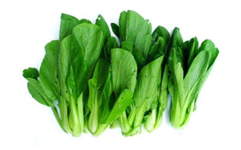 Rau cải xanh là thực phẩm cung cấp vitamin E rất tốt