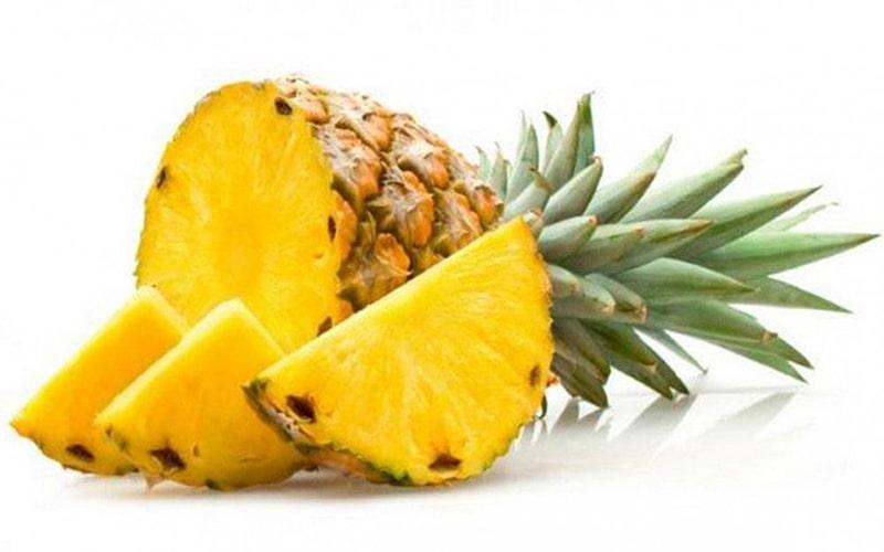 Trong dứa có chứa rất nhiều vitamin C