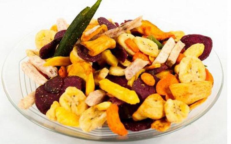 Trái cây sấy khô giàu Vitamin K, có lượng calo thấp