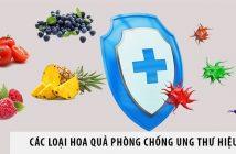 Điểm danh các loại hoa quả phòng chống ung thư hiệu quả