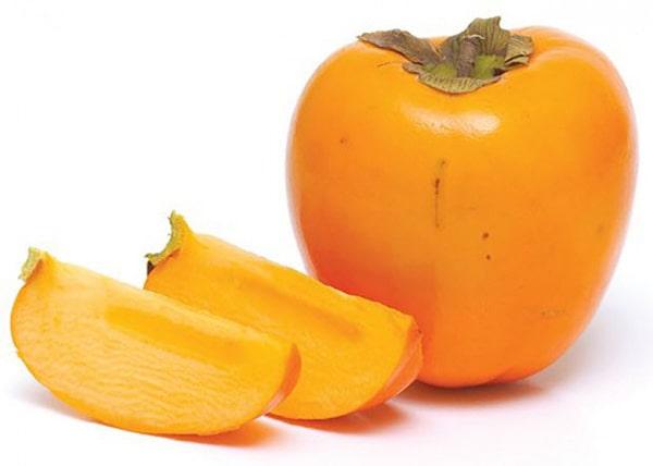 Hồng giòn là loại quả đặc trưng cuối tháng 11, đầu tháng 12
