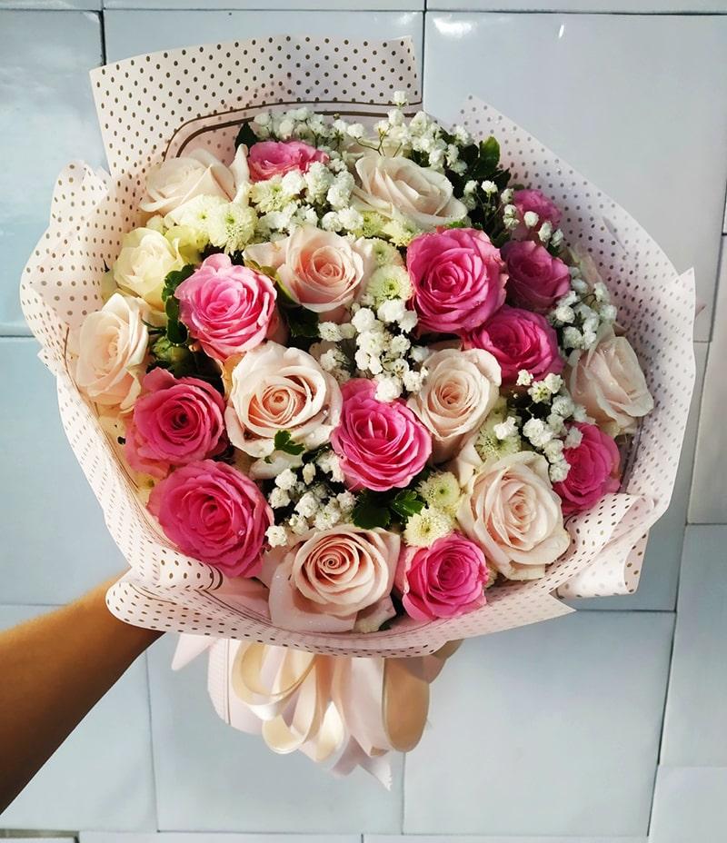 Những bó hoa chúc mừng sinh nhật của Điện hoa Nét Việt