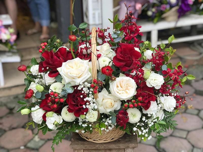 Hoa tươi tại shop Bảo Ngọc