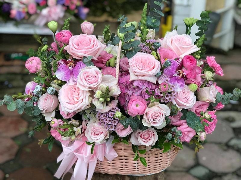 Bó hoa tươi tại shop hoa Huỳnh Anh