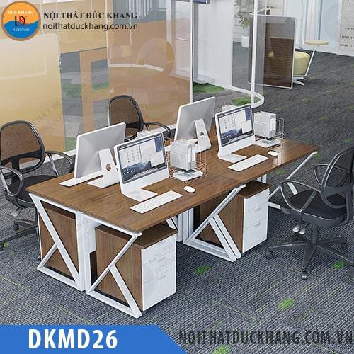 Cụm bàn làm việc 4 chỗ DKMD26