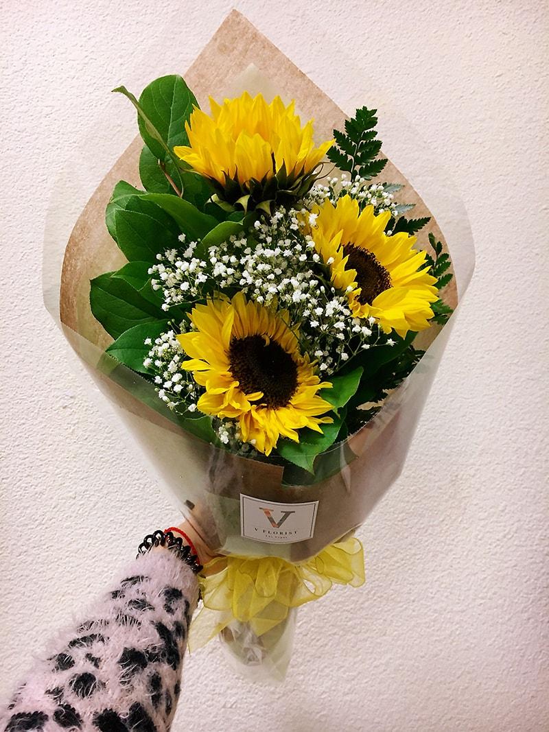 Hoa hướng dương rất ý nghĩa để tặng sinh nhật chị gái