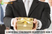 6 món quà tặng doanh nghiệp cuối năm ý nghĩa nhất